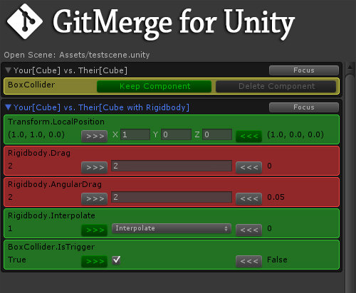 GitMerge for Unity